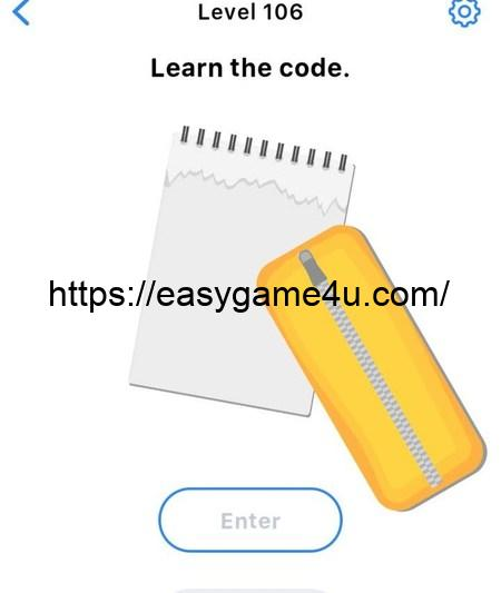 Level 106 - Learn the code
