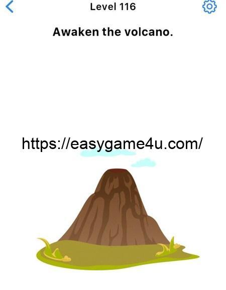 Level 116 - Awaken the volcano