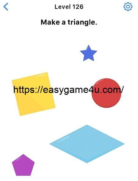 Level 126 - Make a triangle