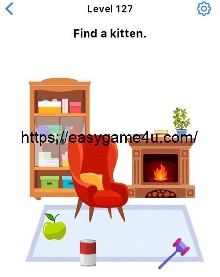 Level 127 - Find a kitten