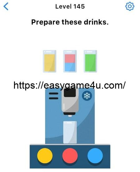 Level 145 - Prepare these drinks
