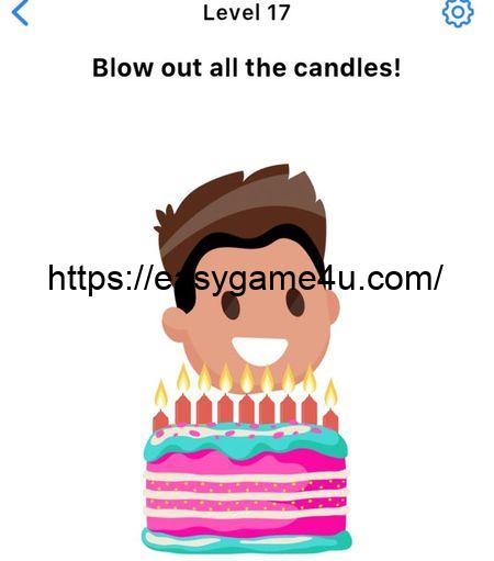 Level 17 - Blow out all the candles!