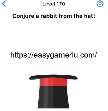 Level 170 - Conjure a rabbit from the hat!