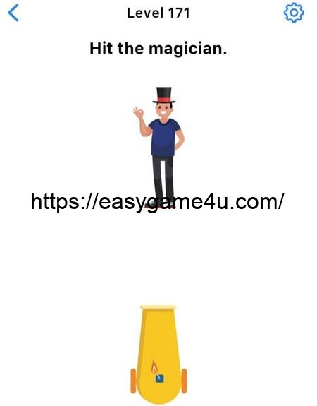 Level 171 - Hit the magician