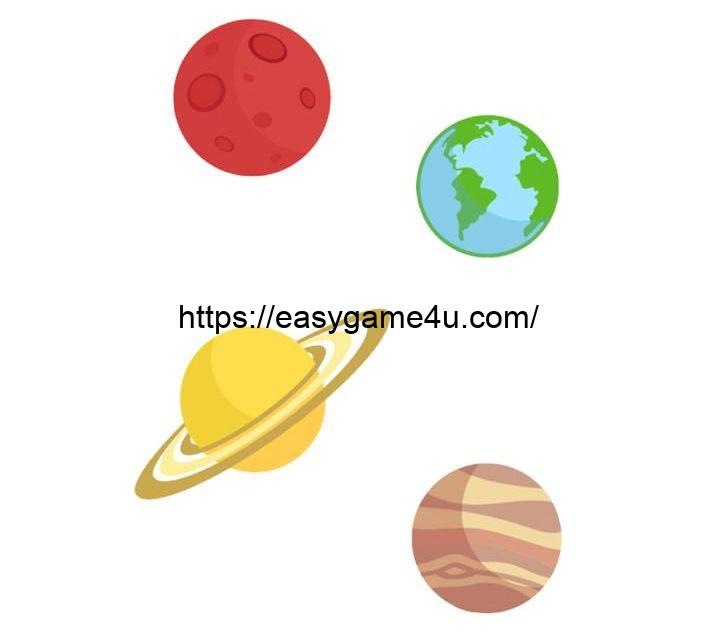 Which on the planets is the largest