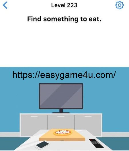 Level 223 - Find something to eat