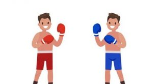 Level 246 - Make the boxer in the red shorts win
