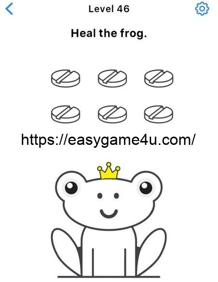 Level 46 - Heal the frog