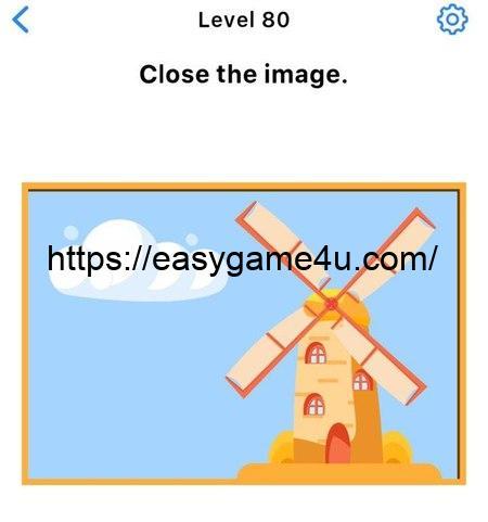 Level 80 - Close the image