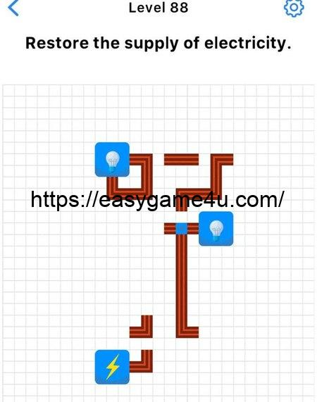 Level 88 - Restore the supply of electricity