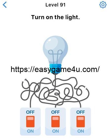 Level 91 - Turn on the light